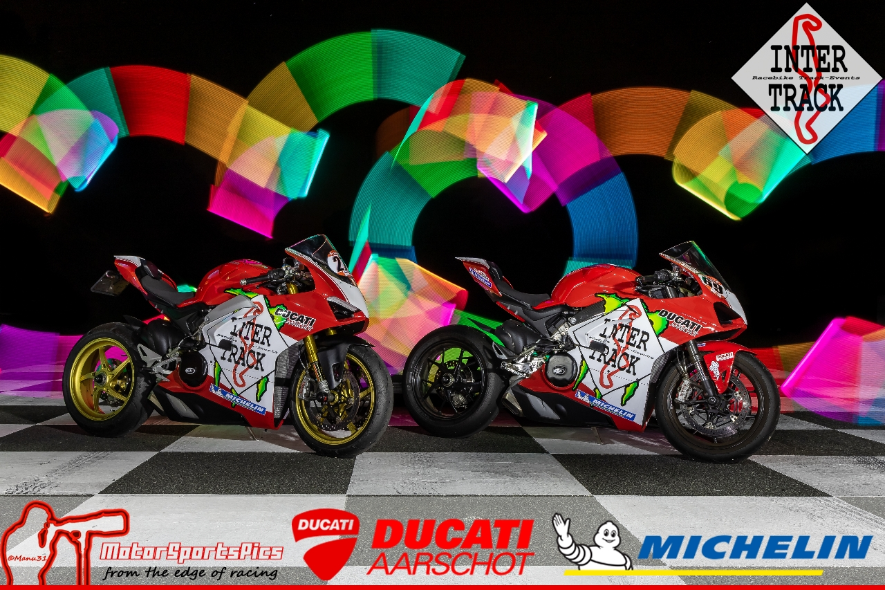 Motorcycle Lightpaint art #6