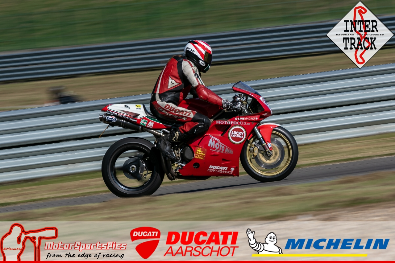 28-06-19 Inter-Track at Mettet Ducati Aarschot day Group 2 Blue #11