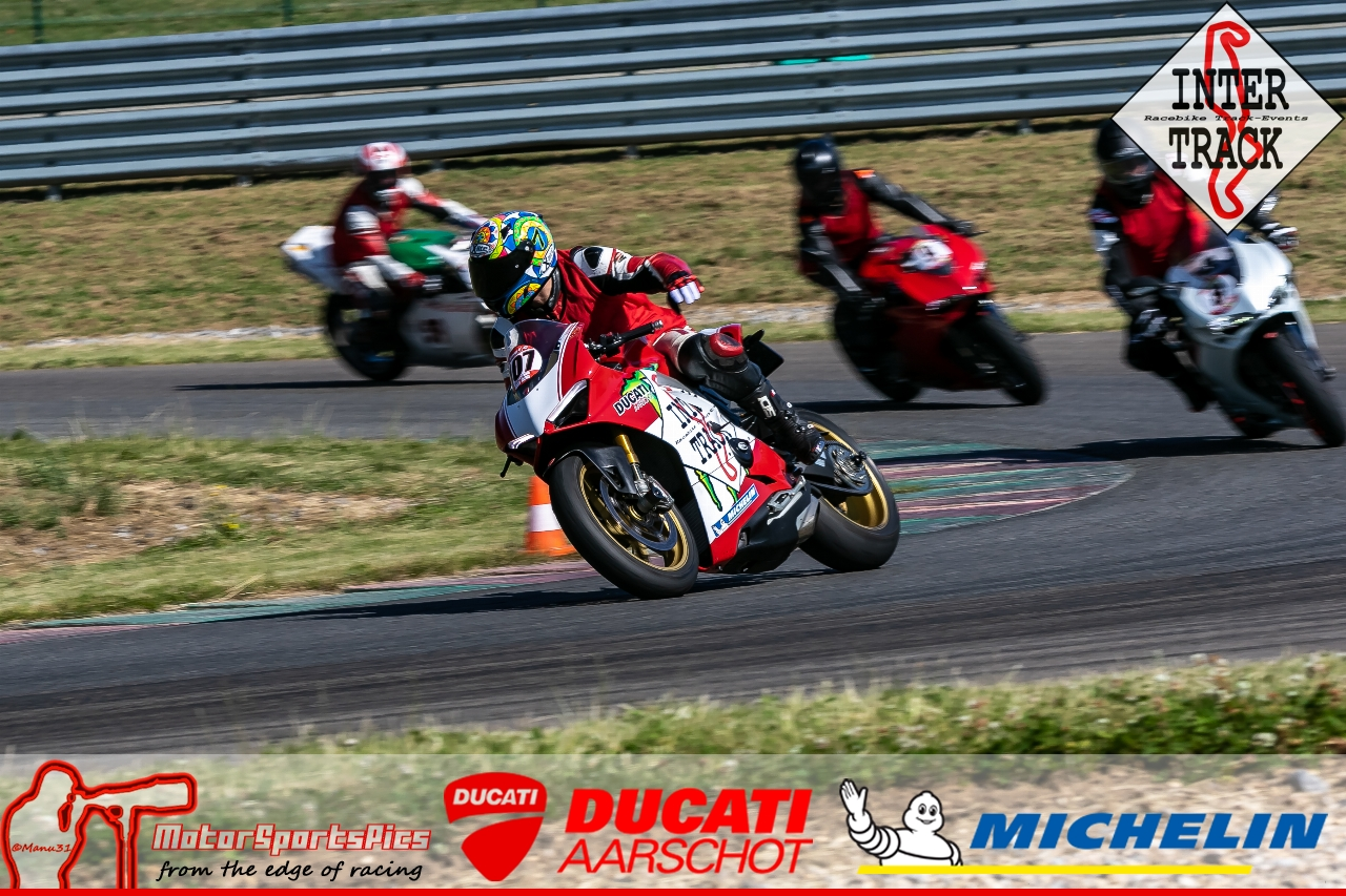 28-06-19 Inter-Track at Mettet Ducati Aarschot Day Group 1 Green #12