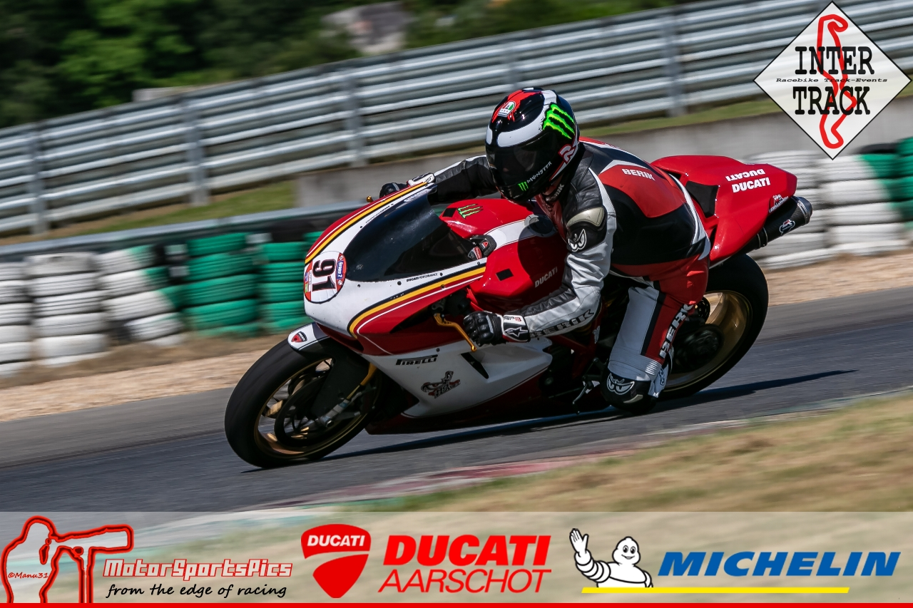 28-06-19 Inter-Track at Mettet Ducati Aarschot day Group 2 Blue #111