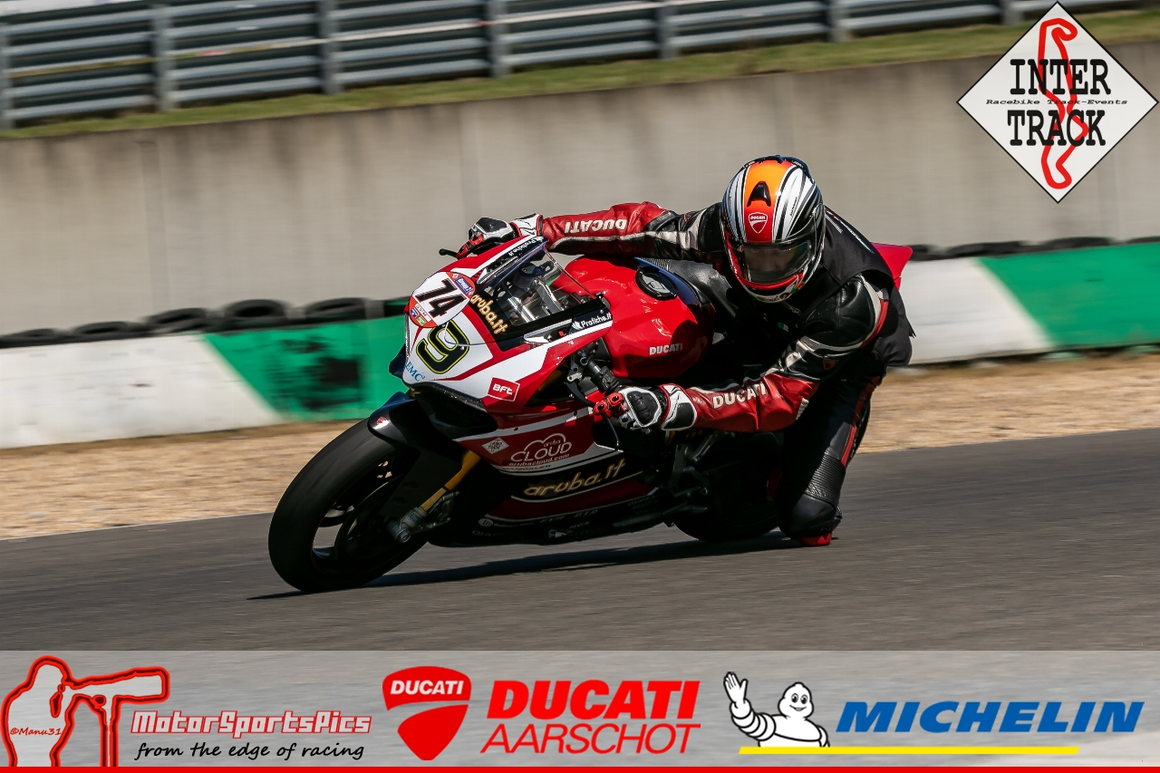 28-06-19 Inter-Track at Mettet Ducati Aarschot day Group 2 Blue #130