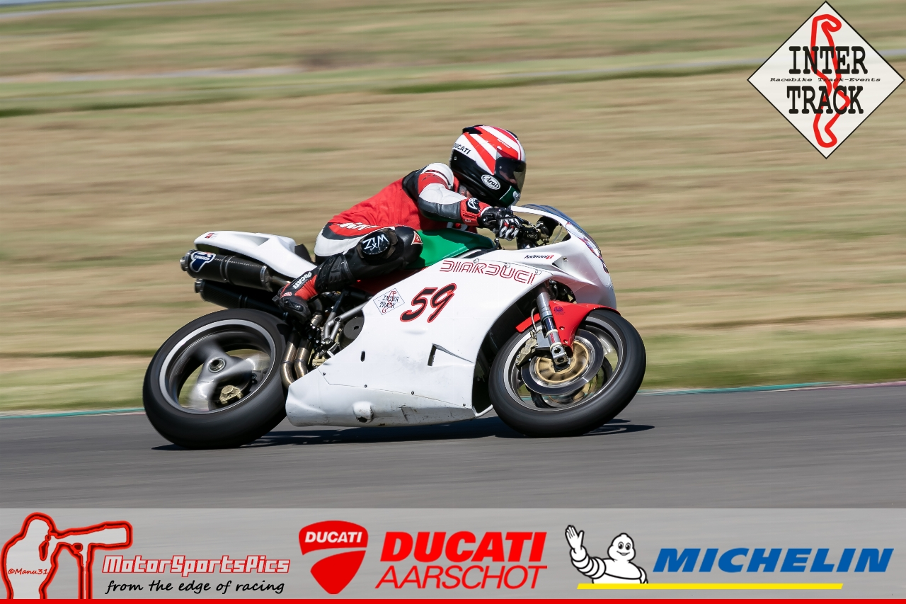 28-06-19 Inter-Track at Mettet Ducati Aarschot Day Group 1 Green #109