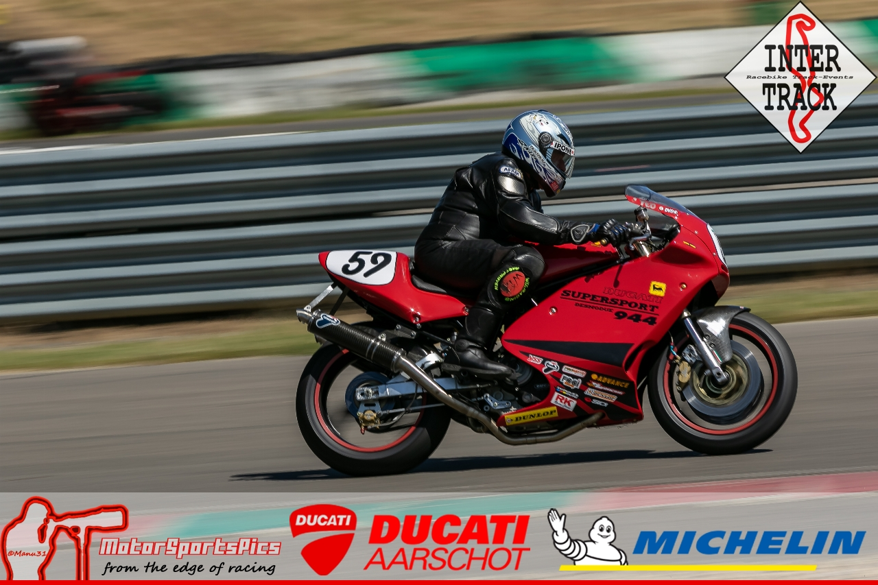 28-06-19 Inter-Track at Mettet Ducati Aarschot Day Group 1 Green #117