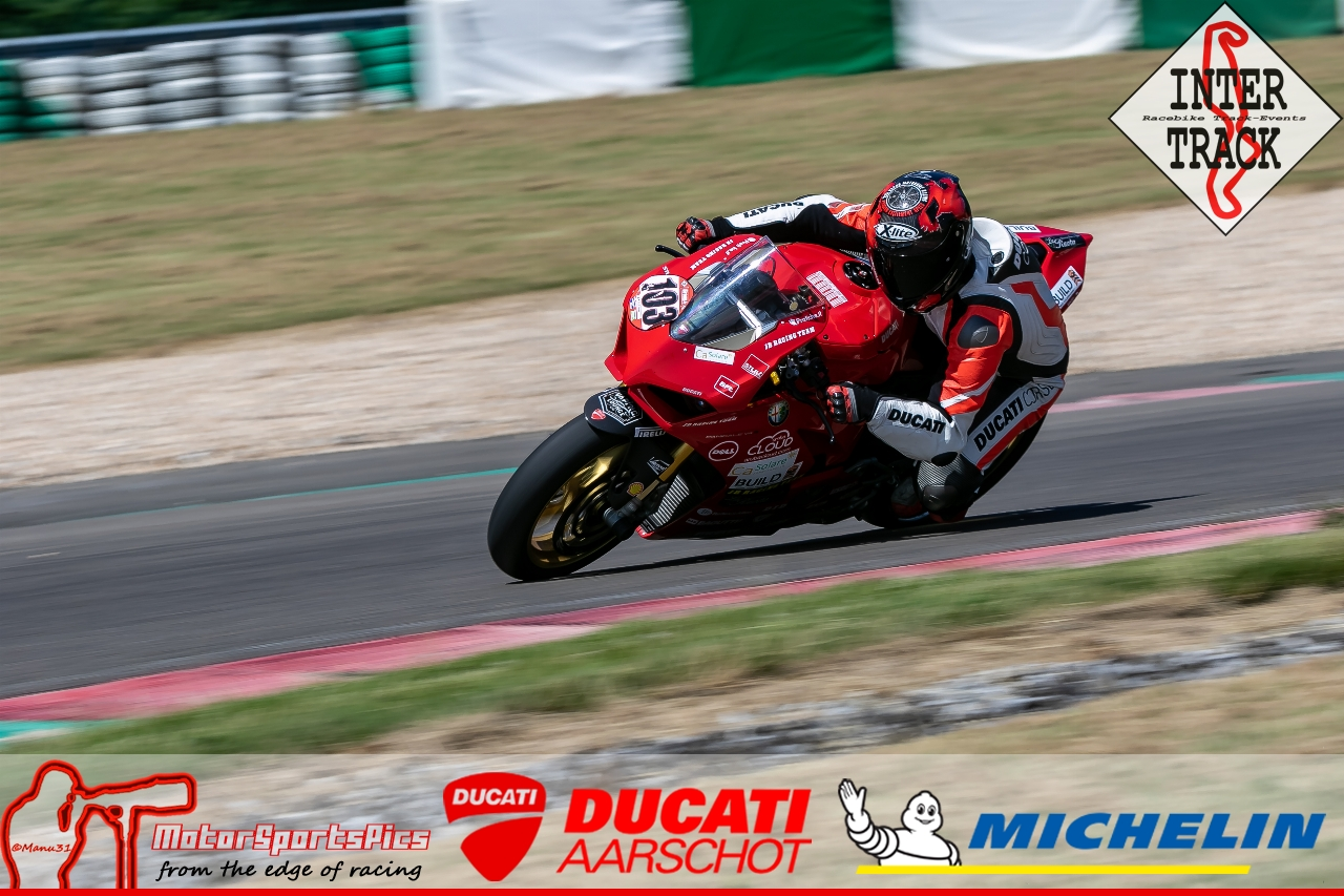 28-06-19 Inter-Track at Mettet Ducati Aarschot day Group 4 Red #111