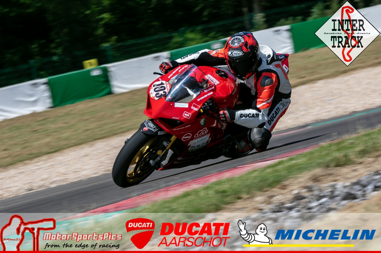 28-06-19 Inter-Track at Mettet Ducati Aarschot day Group 4 Red #124