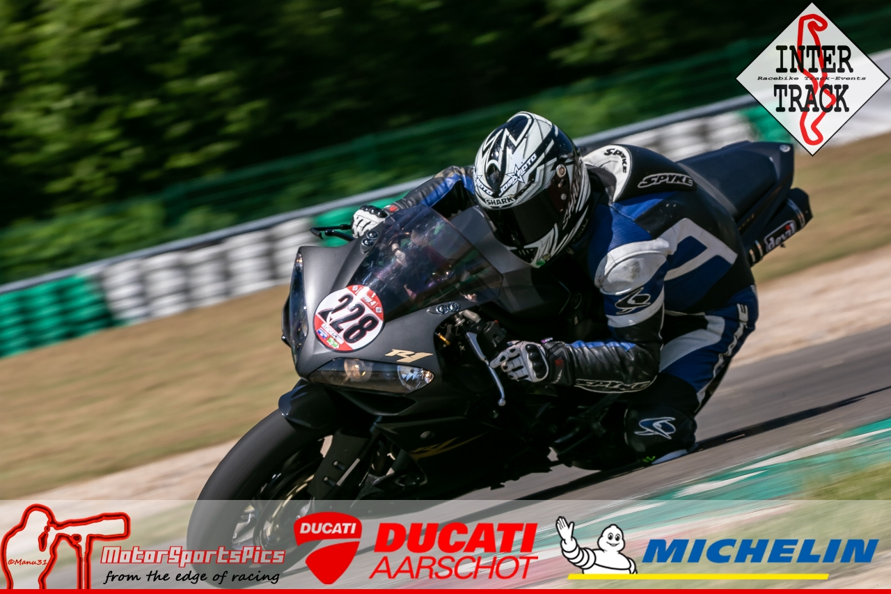 28-06-19 Inter-Track at Mettet Ducati Aarschot day Group 4 Red #129