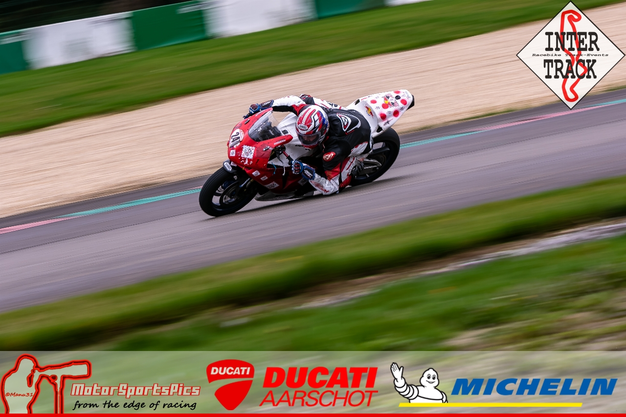 07-10-19 Inter-Track Mettet Group 4 red #58