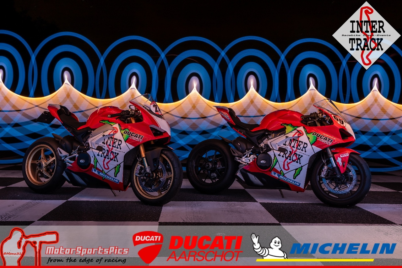 Lightpaint art photography of motorcycles #5