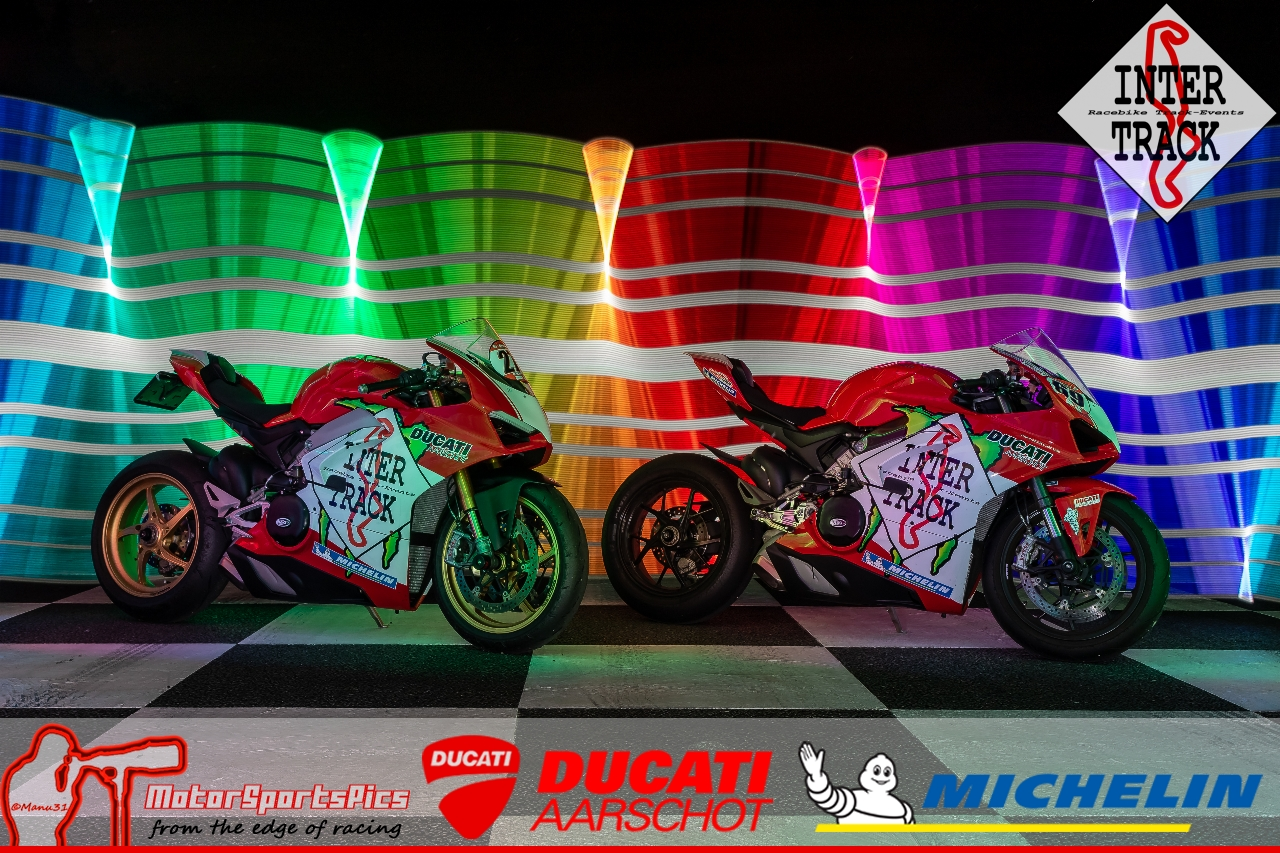 Lightpaint art photography of motorcycles #7
