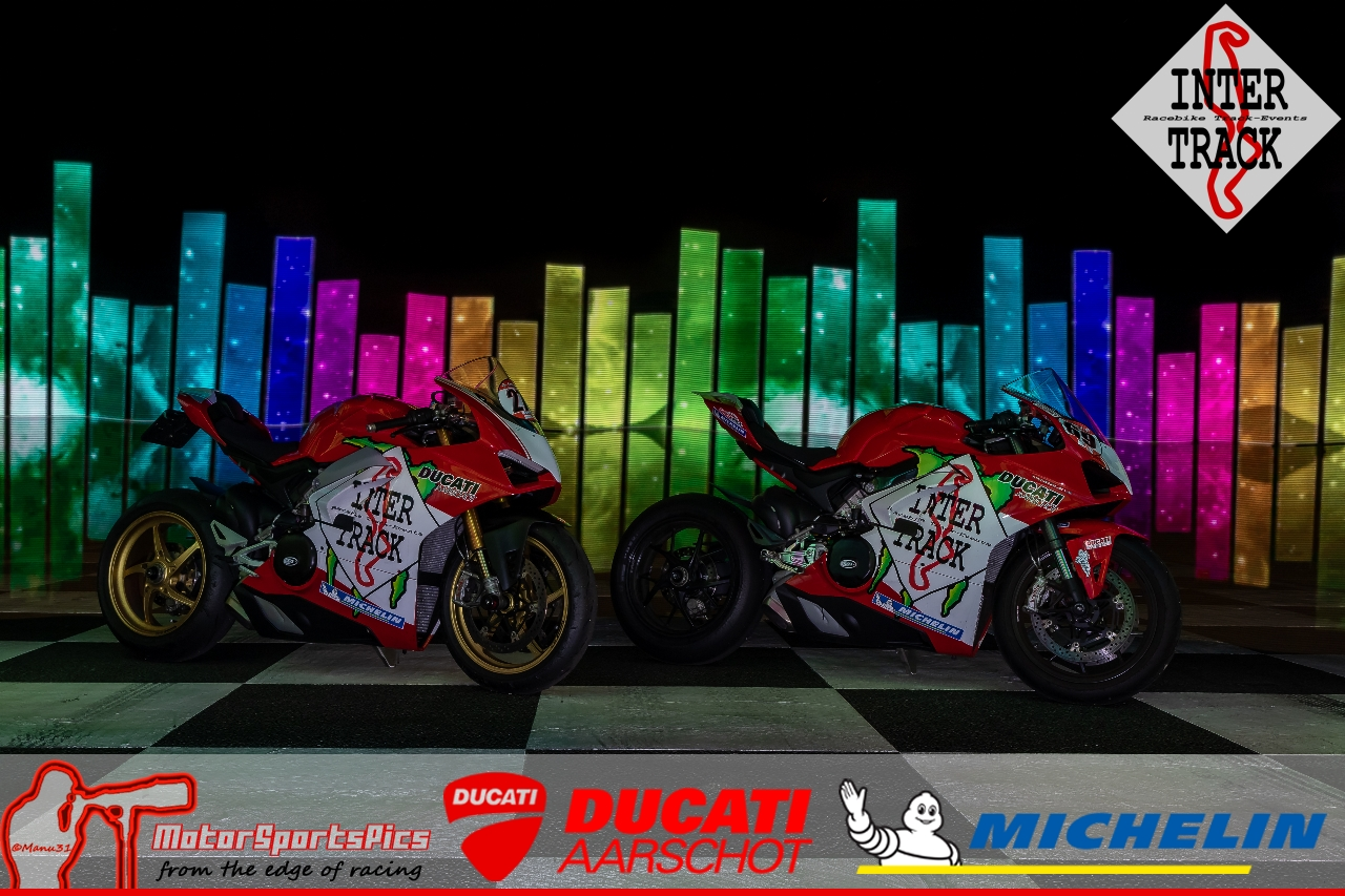 Lightpaint art photography of motorcycles #8
