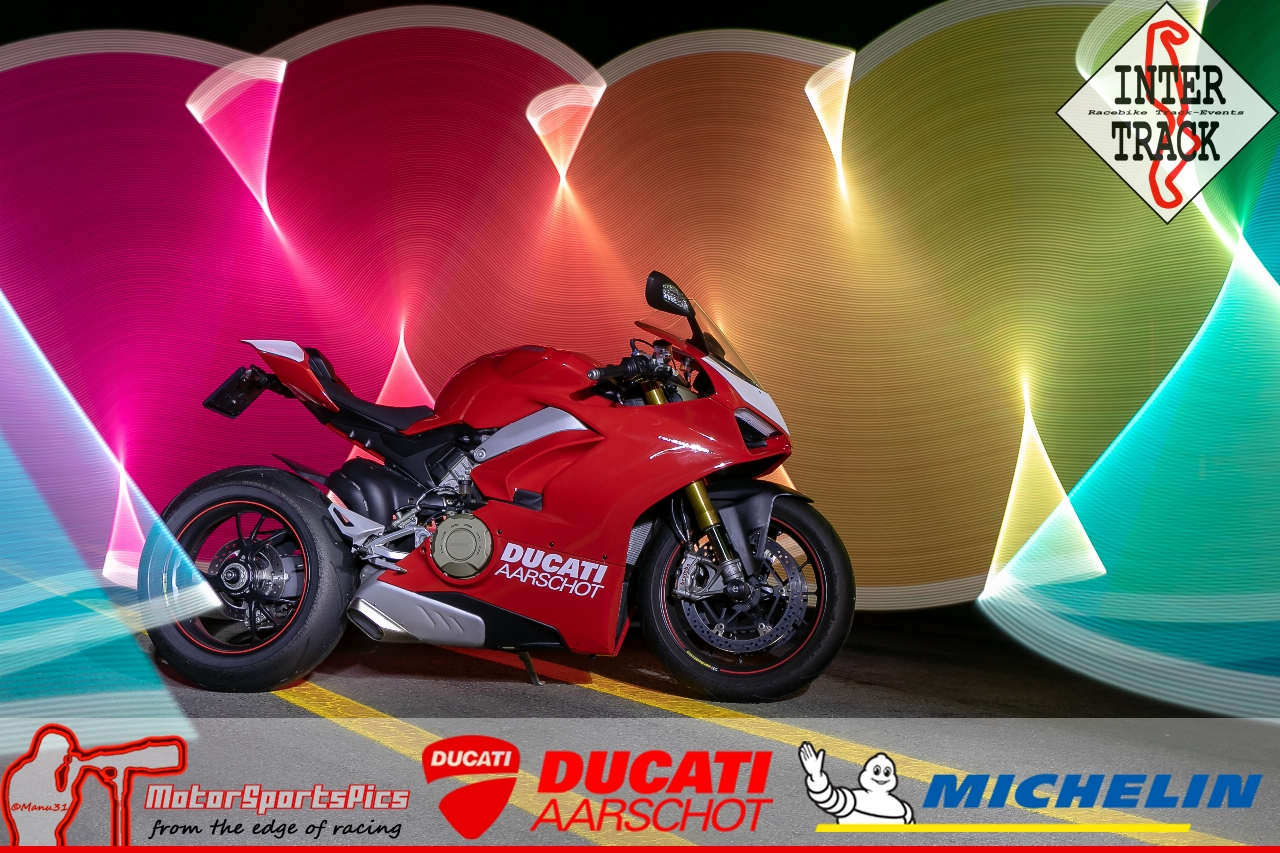 Lightpaint art photography of motorcycles #15