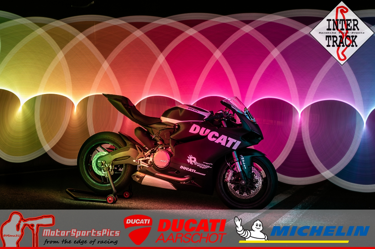 Lightpaint art photography of motorcycles #22