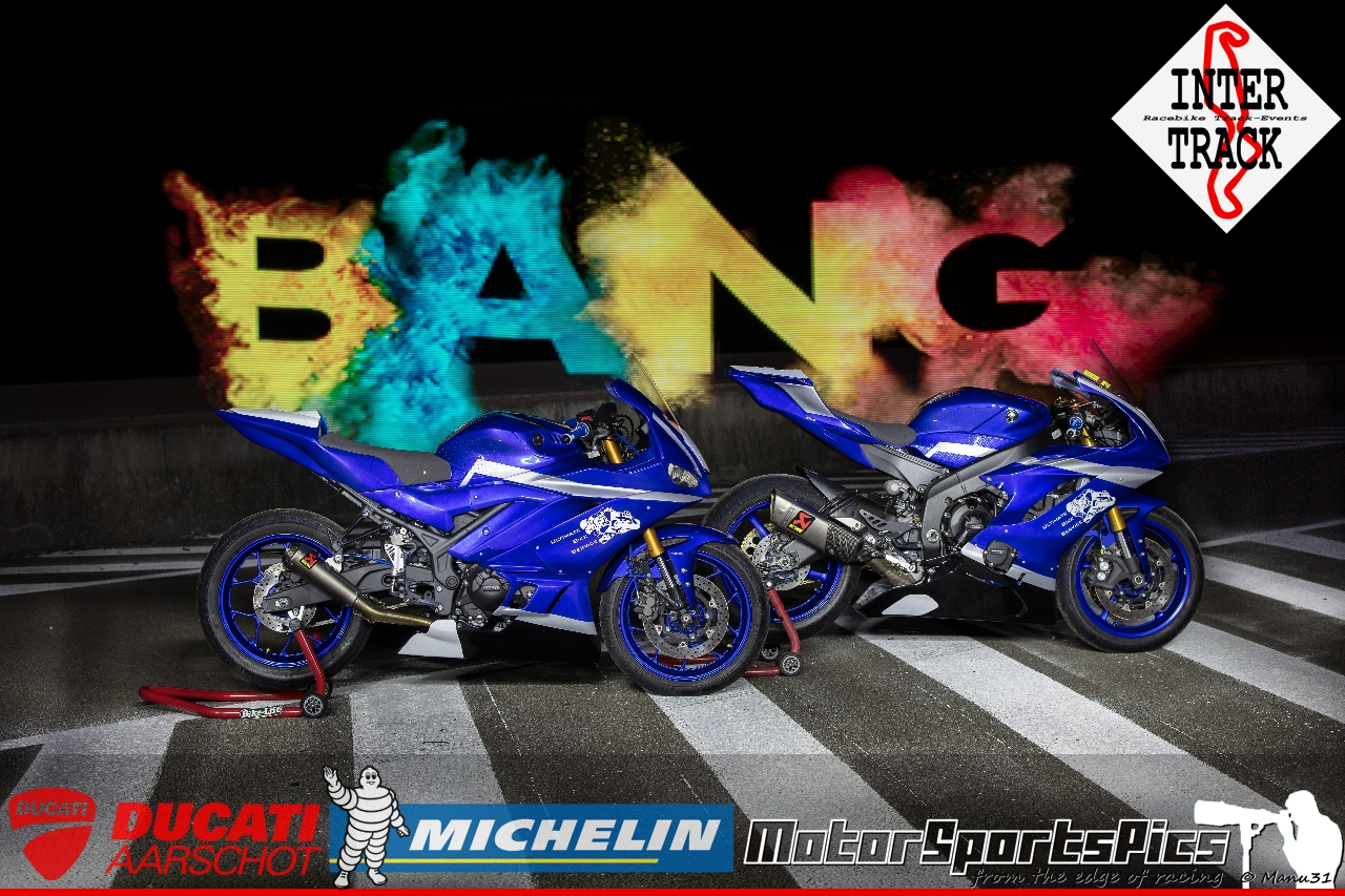 Lightpaint art photography of motorcycles #4