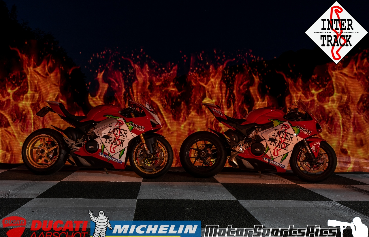 Lightpaint art photography of motorcycles #16