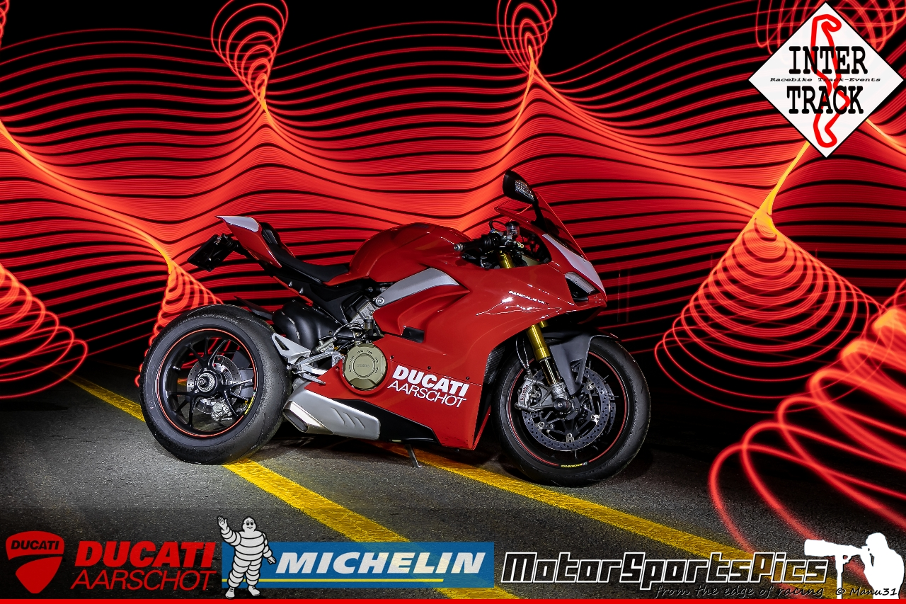 Lightpaint art photography of motorcycles #50