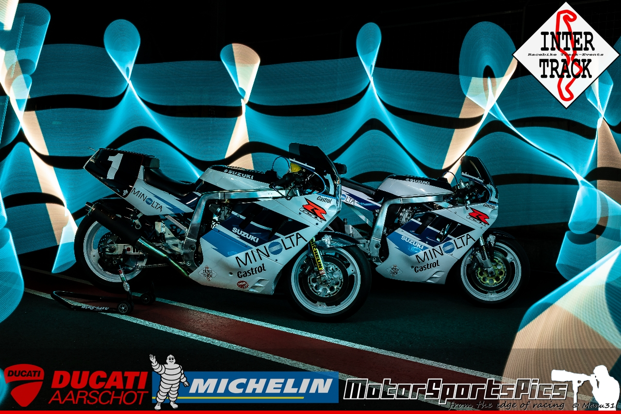 Lightpaint art photography of motorcycles #59