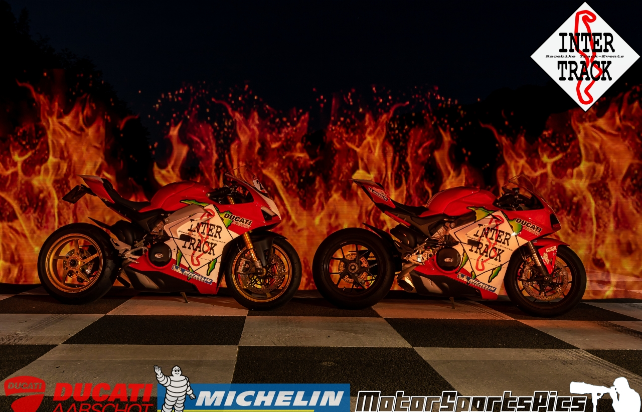 Lightpaint art photography of motorcycles #60