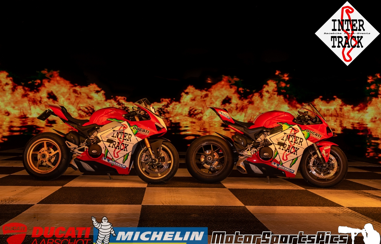Lightpaint art photography of motorcycles #62