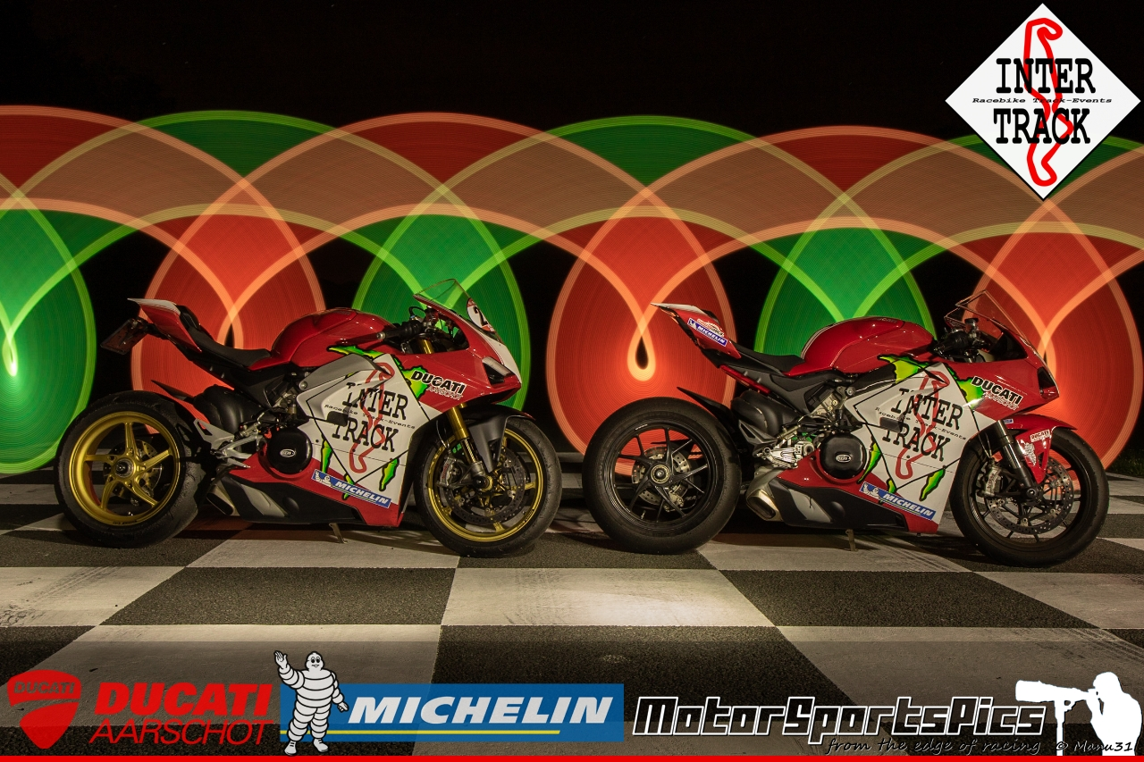 Lightpaint art photography of motorcycles #63