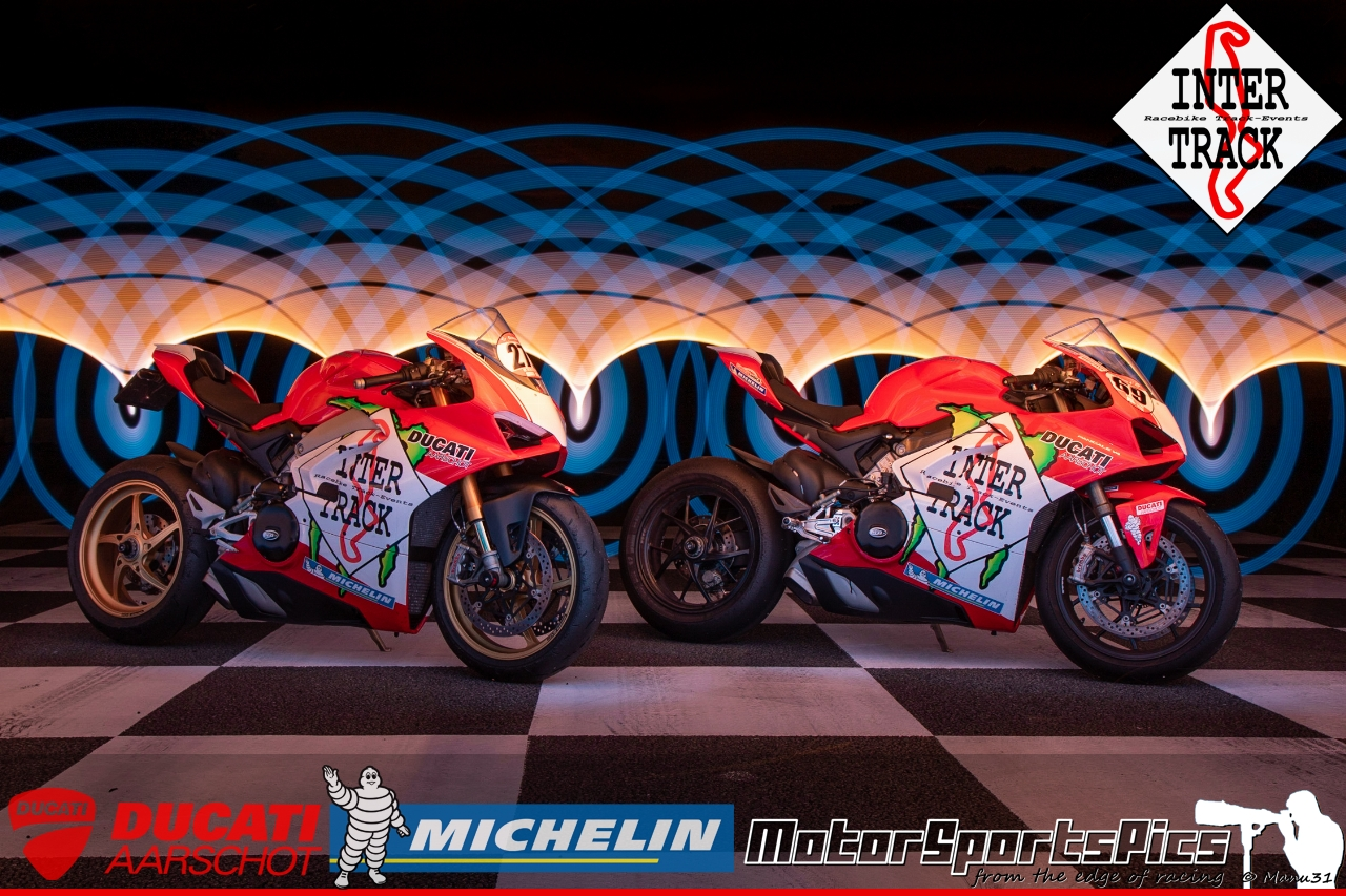 Lightpaint art photography of motorcycles #65