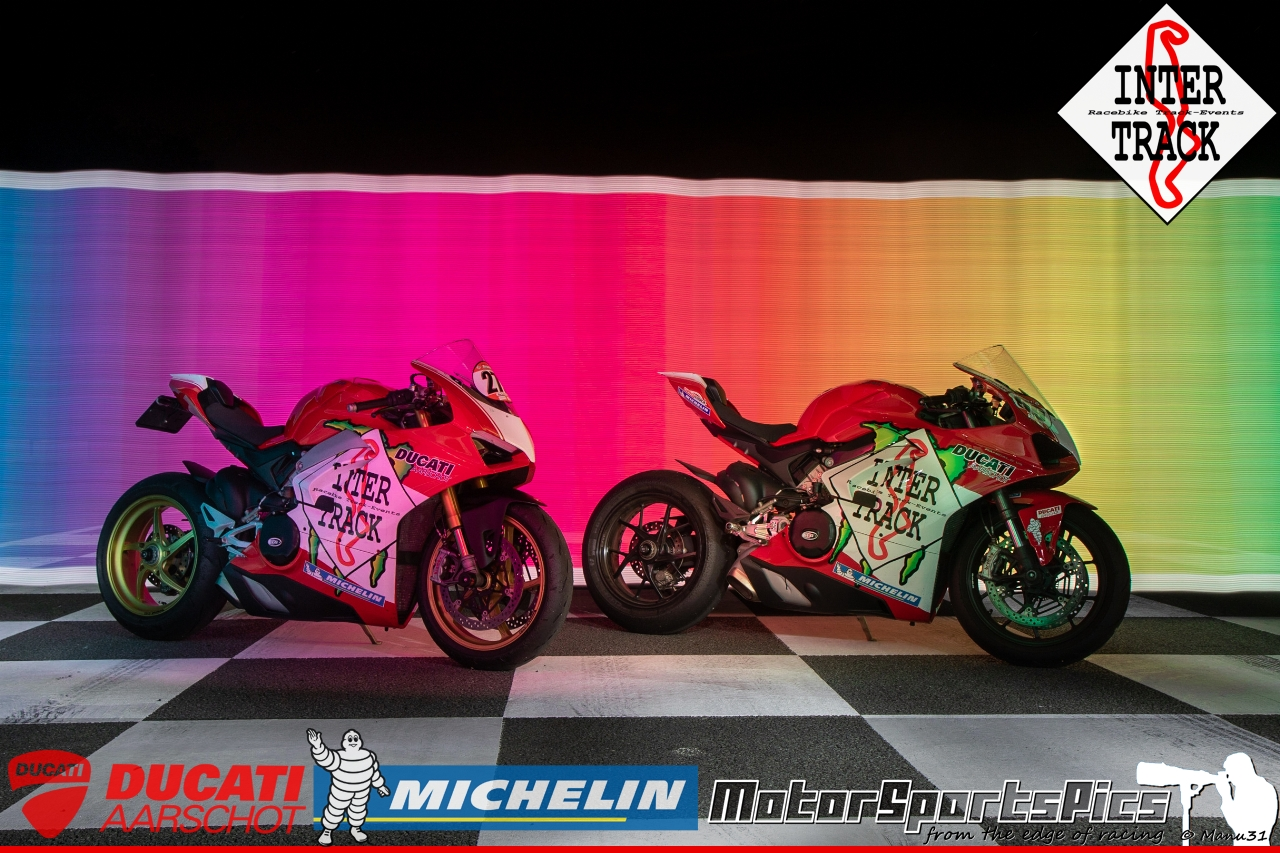 Lightpaint art photography of motorcycles #67
