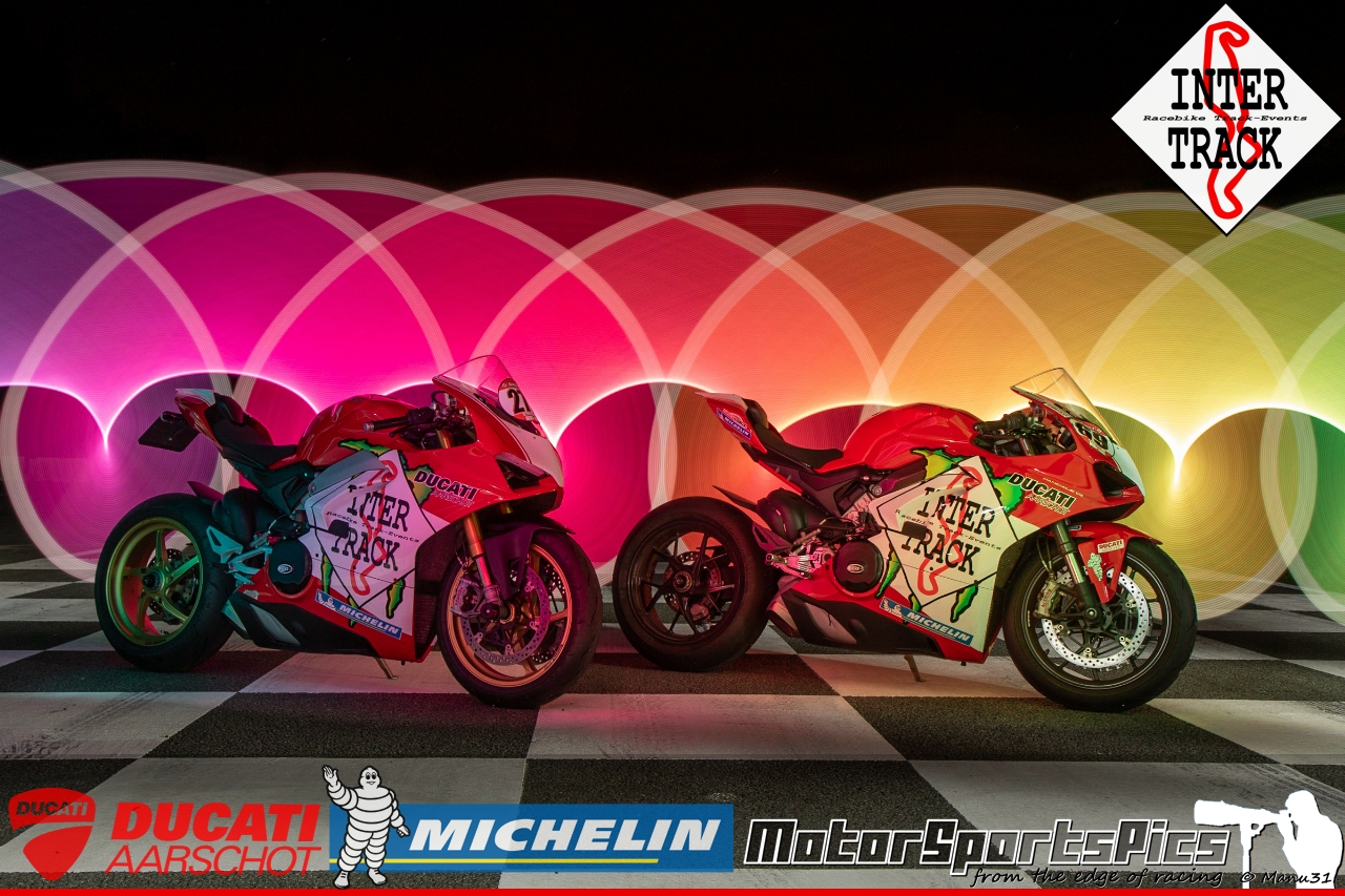 Lightpaint art photography of motorcycles #68