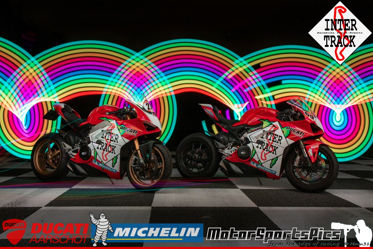 Lightpaint art photography of motorcycles #69