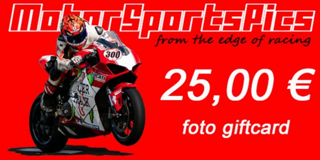 MotorSportsPics Gift vouchers 25 € #1