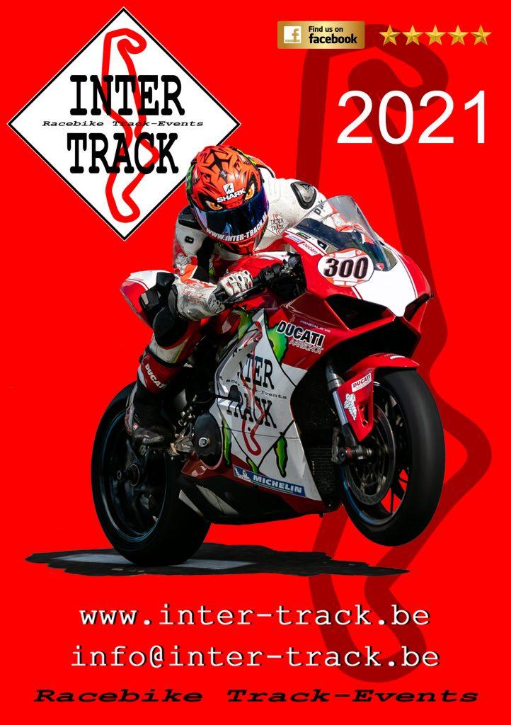 Inter-Track event kalendar front picture