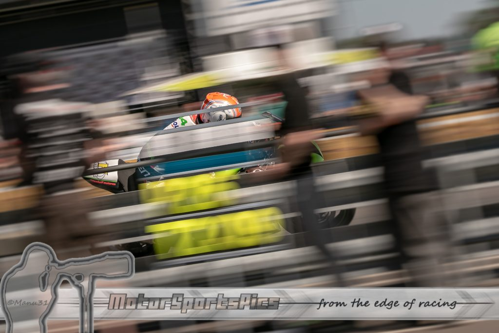 IRRC Hengelo speeding past the paddock
