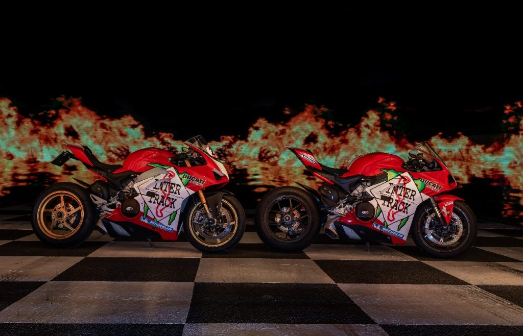 Lightpaint art photography of motorcycles #17
