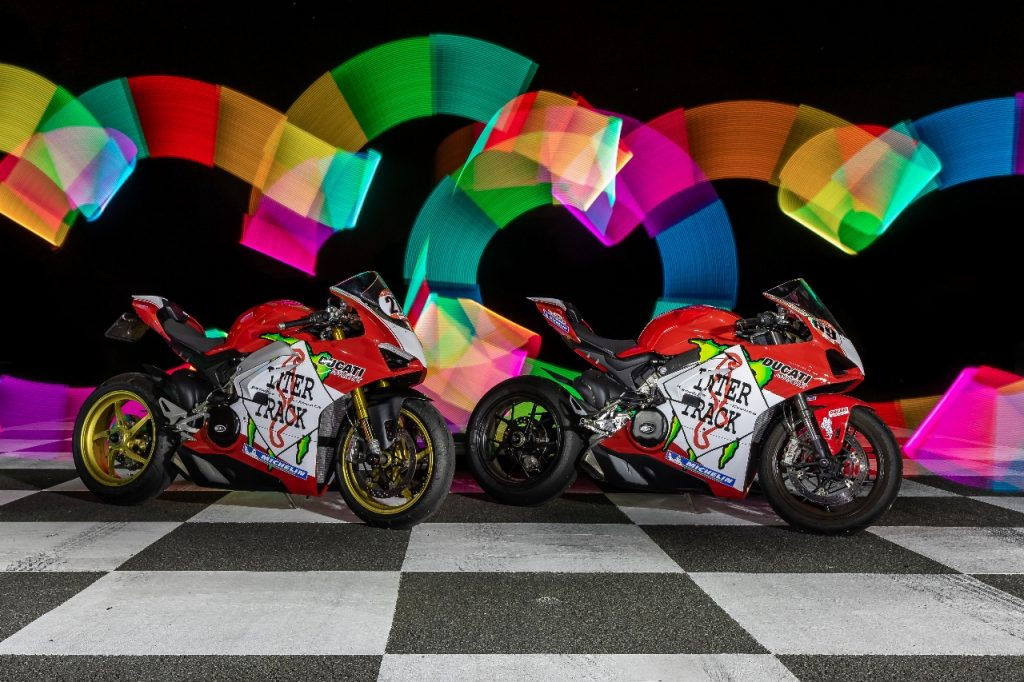Lightpaint art photography of motorcycles #20