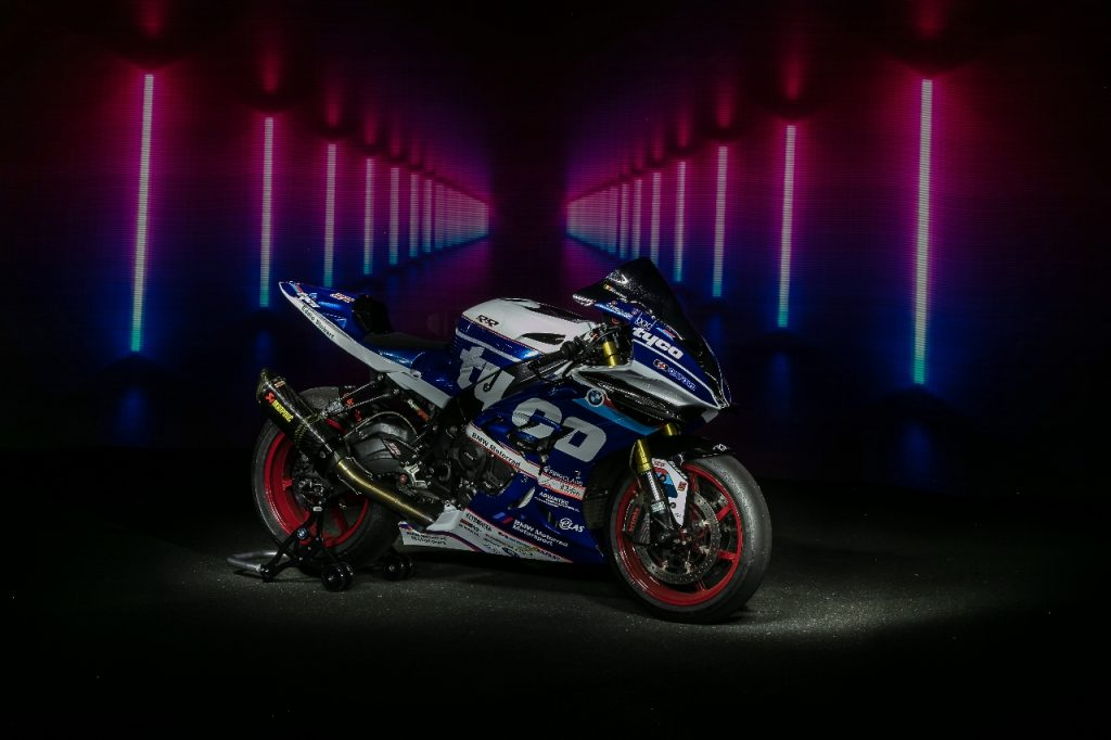 Lightpaint art photography of motorcycles #23