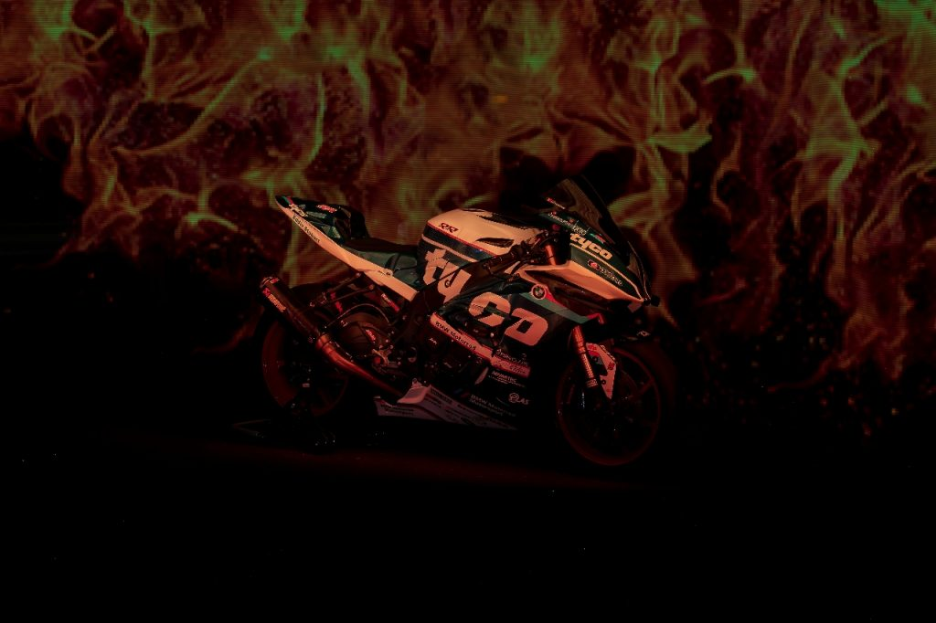 Lightpaint art photography of motorcycles #24