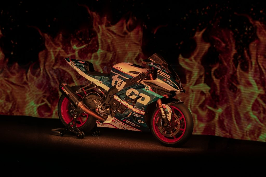 Lightpaint art photography of motorcycles #25