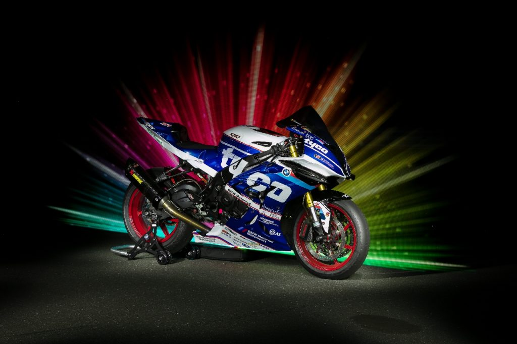 Lightpaint art photography of motorcycles #34