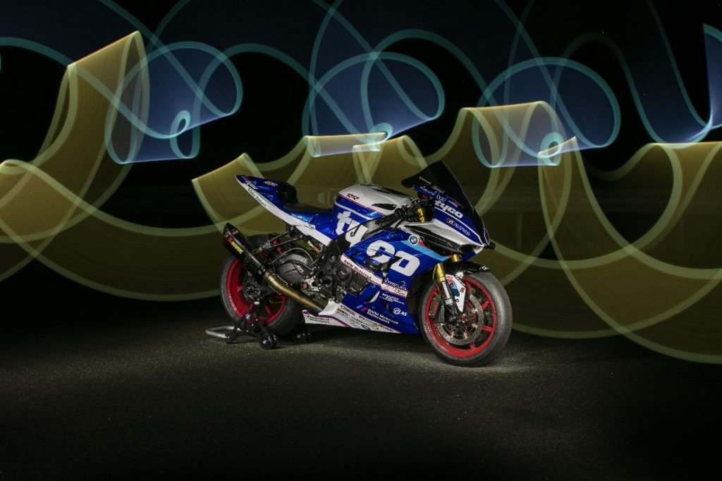 Lightpaint art photography of motorcycles #37