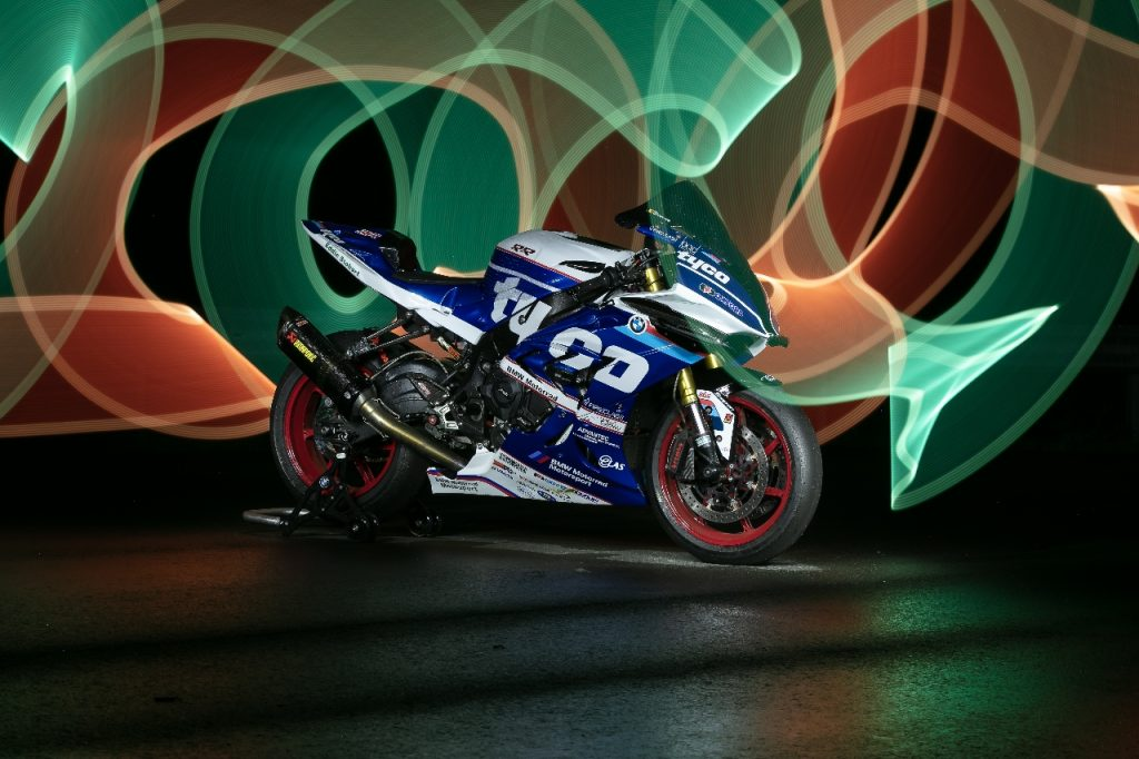 Lightpaint art photography of motorcycles #39